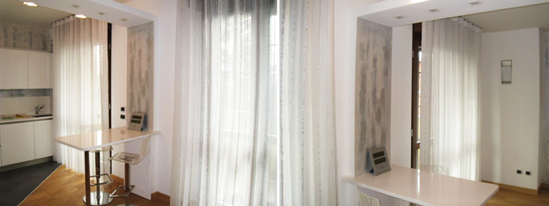 Tenda arricciata classica monza colombo tende for Tende casa classica