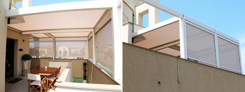 Tenda chiusura balconi - Monza Brianza - Colombo Tende | produzione ...