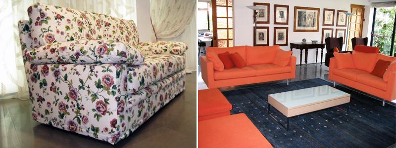Rifacimento divani Muggiò - Monza e Brianza - Colombo tende
