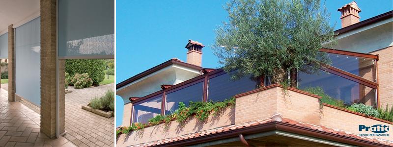 Tende chiusure balconi Muggiò - Monza e Brianza - Colombo Tende
