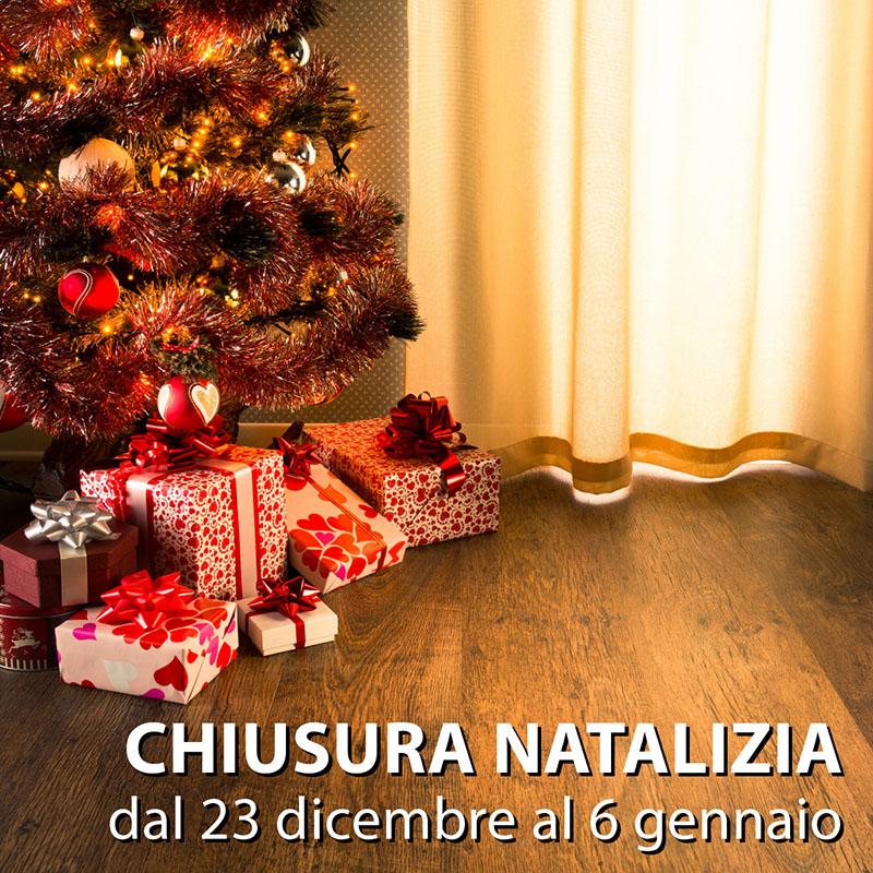 Colombo Tende chiusura natalizia